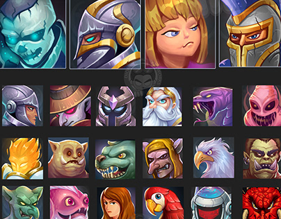 Game Avatar Icons