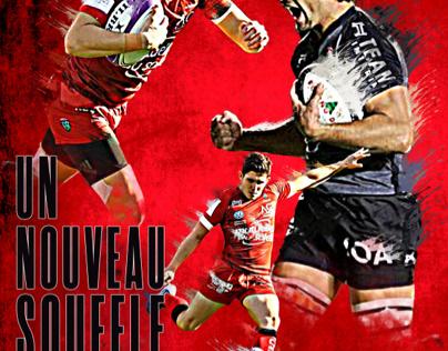Affiche Rugby - Campagne d'abonnement