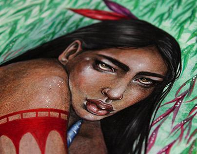 Pocahontas - Fan Art