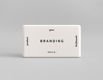 Minimal Soap Box Mockup