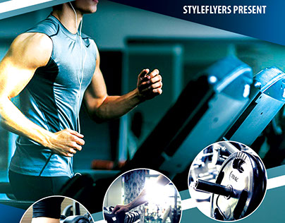 GYM FREE Flyer PSD Template