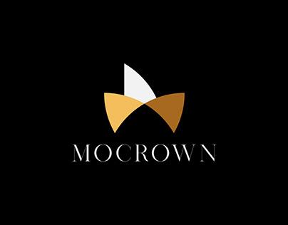 M Crown Minimal Luxury Logo Design For Sale