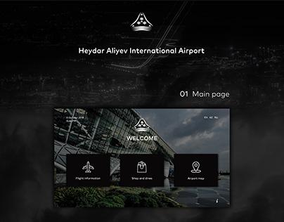 Interactive Airport Kiosk Concept