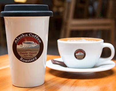 Alaska Coffee Roastery Logo