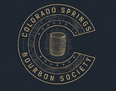 Colorado Springs Bourbon Society Logo