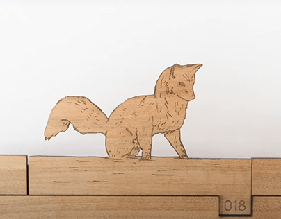 Plywood Fox Stop-Motion Animation