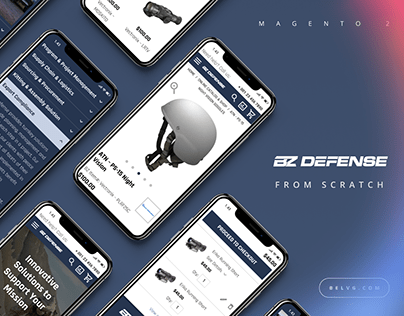 E-commerce - Online Store for US Military