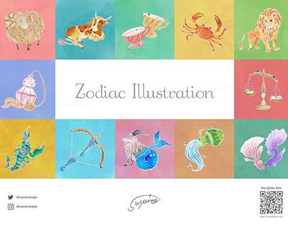 Zodiac Illustration