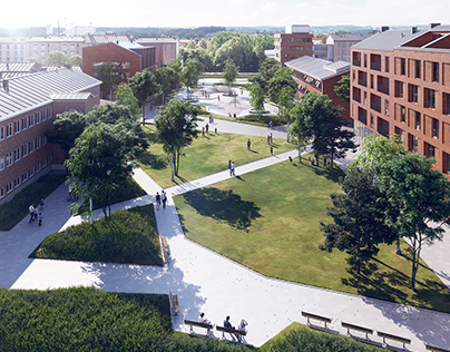 Urban development proposal - Nyköping