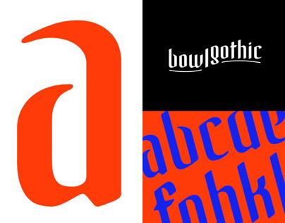 Bowl Gothic Typeface