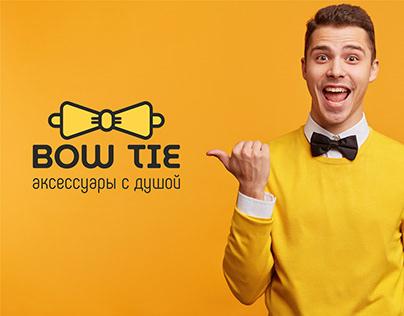 Логотип для магазина аксессуаров Bow Tie