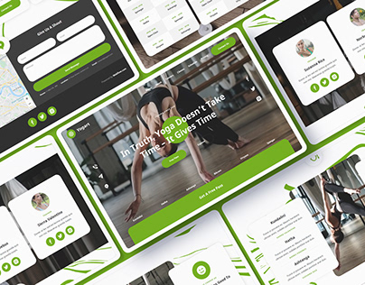 Yogart - Yoga Website Template