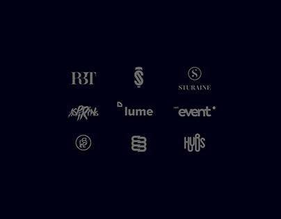 19 Logo Set