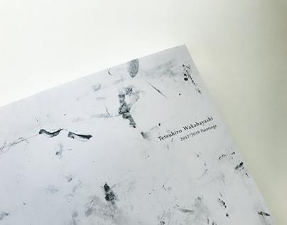 """Art Book """"Tetsuhiro Wakabayashi 2017-2019 Paintings"""""""