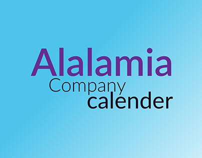 Alalamia calendar 2019
