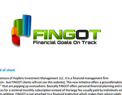 Diploma Project - FINGOT [MIT ID]