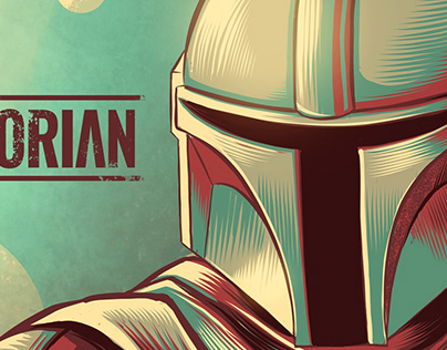 The Mandalorian Tribute Art