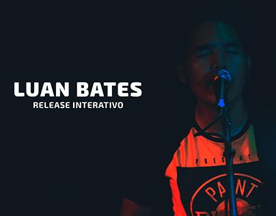 Release Interativo - Luan Bates