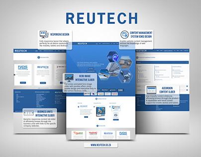 Reutech Website Redesign & Development