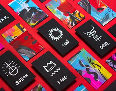 Basquiat Cards ・Fan Art Tarot Cards