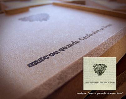 [CD] Barulhista - Mute ou quando Cassia abre os livros