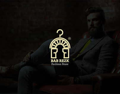 BAB REZK store branding