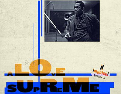 JOHN COLTRANE COVER · A LOVE SUPREME