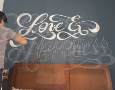 Hand-lettering cabeceira SP