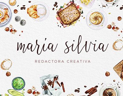 María Silvia - Personal Brand