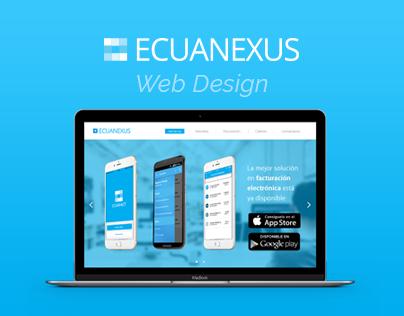 Ecuanexus® Web Design