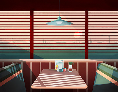 Lonely diner