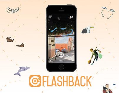 ui / ux - flashback mixed reality app