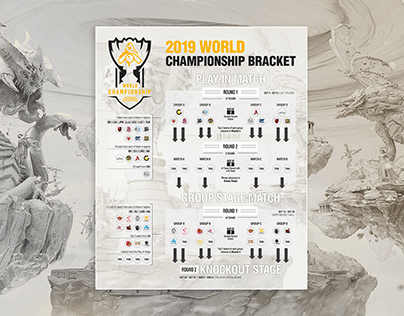 Esport Championship Bracket Format Layout