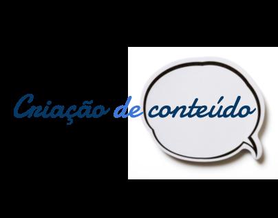 Criação de conteúdo - textos do blog Maternólatra