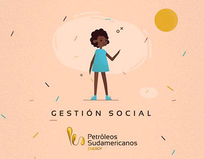Animación para Petróleos Sudamericanos - Braco Estudio