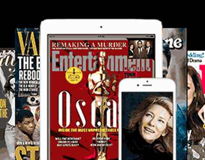 Magazine App Banner Ads (Oscars)