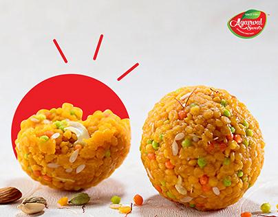 Packaging Design for Agarwal Sweets, Erode