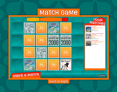 Newseum Interactive Newsroom: Match Game