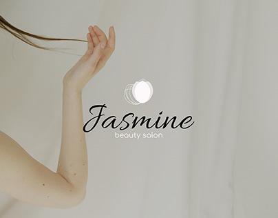 Logo for a beauty salon / JASMINE