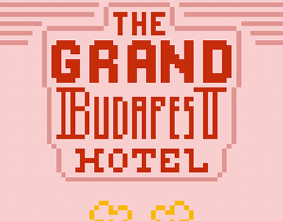 Pixel Art, The Grand Budapest Hotel