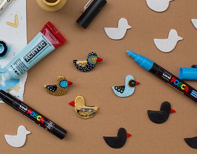 Little Bird Pin