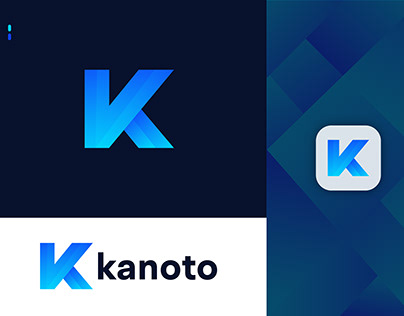 K Letter Logo - K Logo Mark - K Icon - Kanoto
