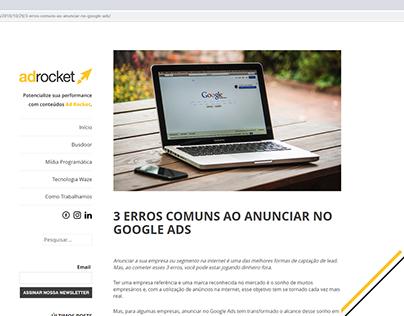 Adrocket - Blog