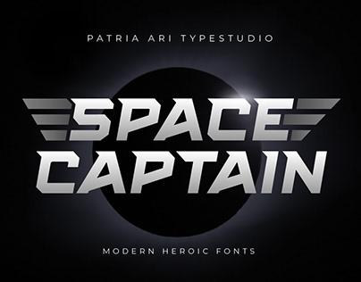 Space Captain - Modern Fonts