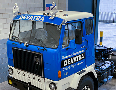 Devatra truck replica
