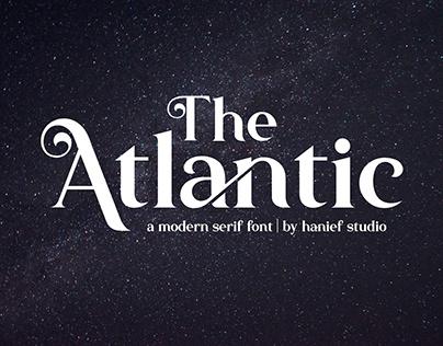 The Atlantic//Modern Serif Font