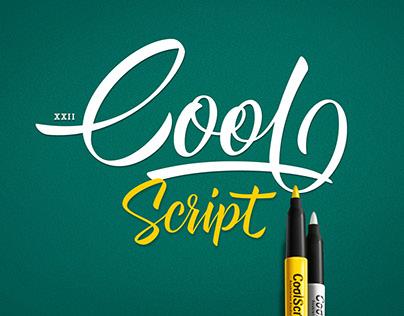 XXII Cool Script - Font