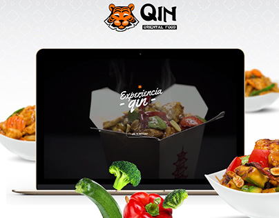 Qin Oriental Food. Website
