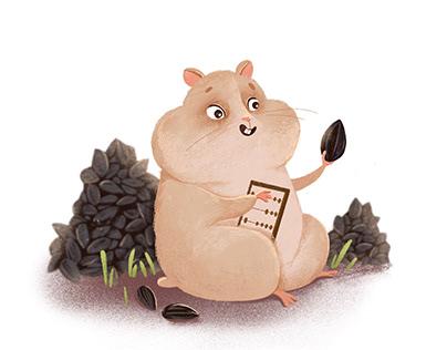 Creating illustration for children encyclopedia