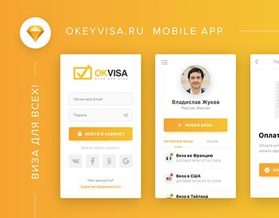 Okeyvisa.ru Mobile App